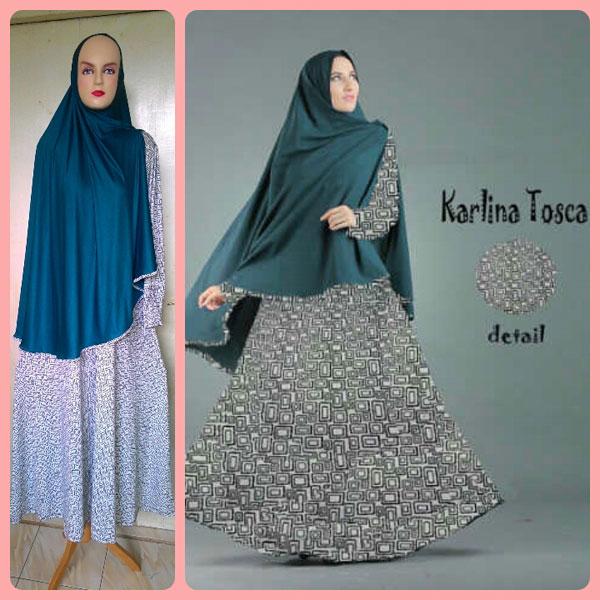 Gamis Terbaru Islami Karlina Tosca