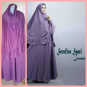 Gamis Terbaru Islami Serafina Lavender