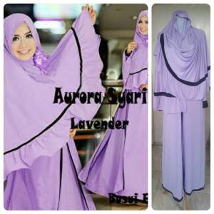 Gamis Terbaru Islami Aurora Lavender