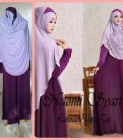 Gamis Terbaru Islami Naomi Lavender