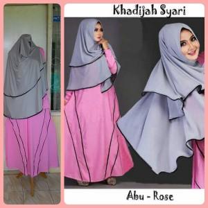 Gamis Terbaru Islami Khadijah Abu Rose