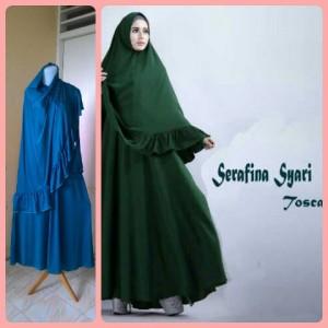 Gamis Terbaru Islami Serafina Tosca