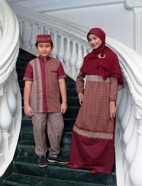 Baju Gamis Anak Sarimbit SKG 011