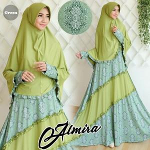gamis terbaru islami almira green