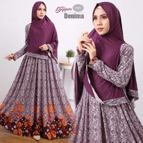 gamis-terbaru-islami-denima-purple
