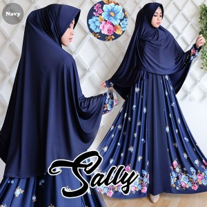 gamis sally navy