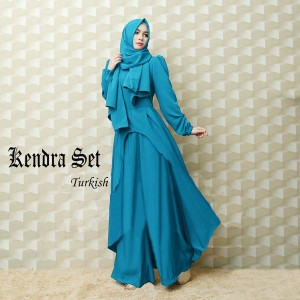 gamis kendra 3 in 1 turkish