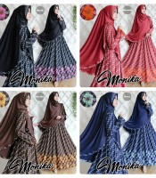 Gamis Monika All Varian Warna
