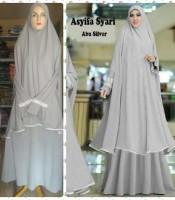 gamis islami terbaru asyifa abu silver