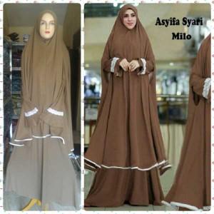 gamis islami terbaru asyifa milo