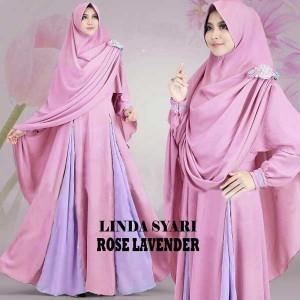 gamis-islami-linda-rose-lavender