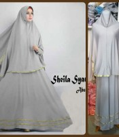 Gamis Terbaru Islami Sheila Abu Silver